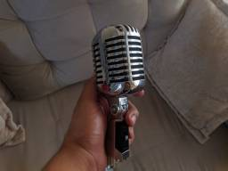 Microfone Vintage Stagg SDM 40 - CR | Cantar ou Decorar