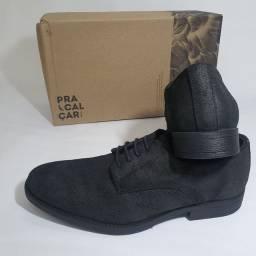 Sapato Reserva preto stone, novo, na caixa, 40