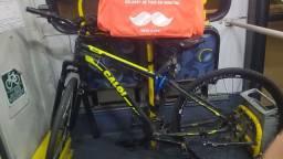 Bicicleta Caloi Velox 29 + bag, mais suporte para GPS celular !