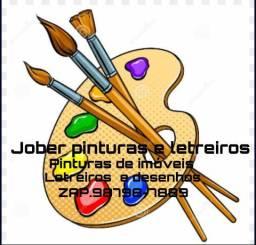 Pinturas e letreiros