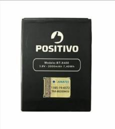 Tela Positivo X400 e bateria