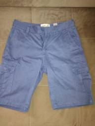 Bermuda solth cor jeans tamanho 34