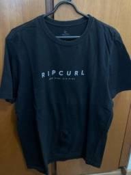 camiseta ripcurl preta