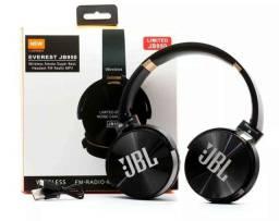 Headphone JBL- com bluetooth, entrada p cartão sd