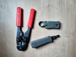 Kit ferramentas Cabeamento Estruturado
