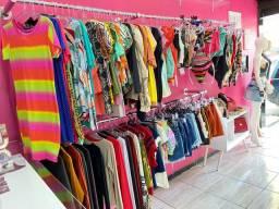 Vendo loja moda feminina, completa
