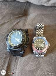 Relógios invicta e Rolex