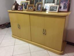 Sofá, estante e balcão (buffet) - usado - Perfeito Estado