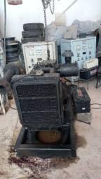 Motor gerador diesel 3 cilindros
