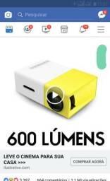 Mini progetor hd novo na caixa 400