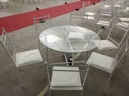 22 Jogos De Mesa C/ 6 Cadeira De Ferro Para Buffet
