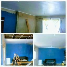 FORRO PVC em áreas interiores e exteriores 23$Instalado