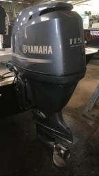 Motor de popa Yamaha 115 hp 4t - 2014