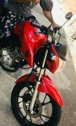 Vendo moto 160 fan 2019