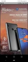 Smartphone Moto E6 Plus 64 GB Cinza metálico