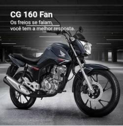 Honda cg fan 160 esdi - 2019