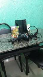 Xbox 360 + 1controle + headset fortreck