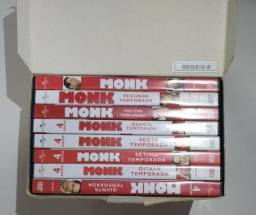 Box série completa detevite Monk