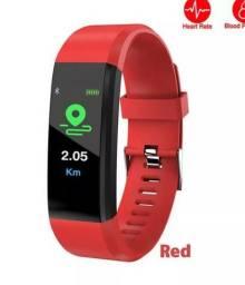 Relógio Inteligente Monitor Cardíaco, sono, pressão arterial, caloria