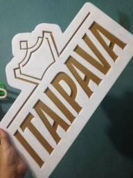 Placa decorativa Itaipava