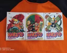 Diversos mangás de Naruto