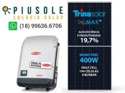 Linha Premium - Energia Solar Fronius e Trina