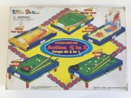 Jogo 5 em 1 Tabuleiro Sporty Games da Toys e Games