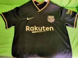 Camisa Barcelona Away 20/21 s / n ° Torcedor Nike Masculina