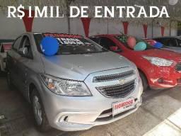 Recuse imitações!! r$1mil de entrada(onix lt 1.0 2016)só na showroom automóveis