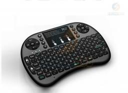 Mini teclado wireless Iluminado com mouse touch integrado