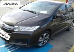 Honda City LX 1.5 Flex Automático IPVA 2020 Pago - 2016