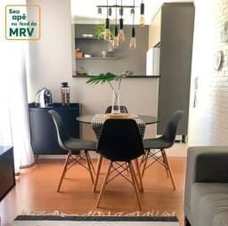 Região de nova iguaçu, apartamento com quintal, vaga de garagem e entrada 48 x