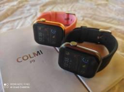 Colmi p9 relógio inteligente à prova D'Água full Touch