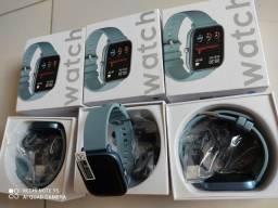 Promoção. smartwatch p8. (R$ 130)