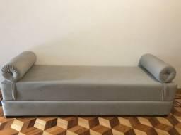 Chaise Divã sofá bicama