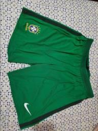 Calção goleiro Seleção Brasileira Nike original
