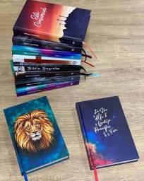 Bíblias personalizadas de capa dura