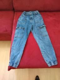 Calça jeans Tam 38.  40 reais