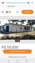 Vende-se ou troca-se uma casa na cidade de Pentencoste por casa em Fortaleza ou Manaus