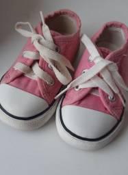 All Star Rosa bebê tam.20 (original)