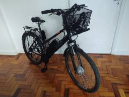 Bicicleta Caloi Urban + Kit elétrico instalado