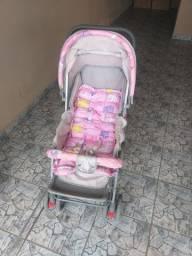 Bebê conforto,carrinho e chiqueirinho.