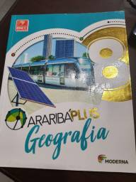 Livro : Araribá Plus Geografia 8 ano<br><br>