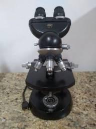 Microscopio científico Carl Zeiss Winkel Standard Binocular Profissional