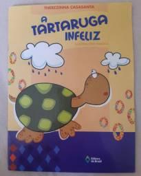 Livro A Tartaruga infeliz
