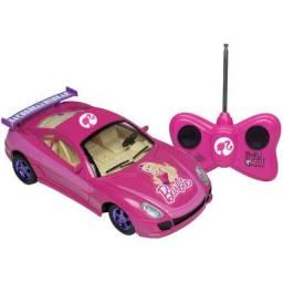 Carrinho de controle remoto Barbie