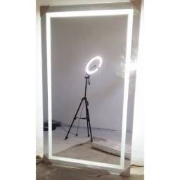 Espelho com led embutido 0.70 x 1.00