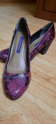 Sapato Cravo e Canela n° 37