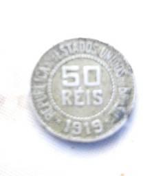 Moeda de 50 Réis de 1919