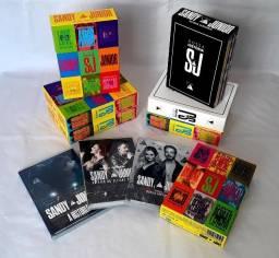 Box DVD Sandy e Junior Era Nossa História Deluxe.